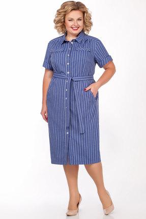 женское повседневные платье lakona, синее