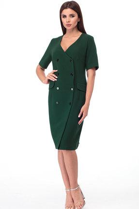 Платье Anelli 333 зеленый