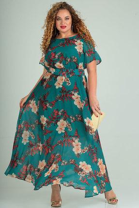 Платье SOVITA 661 бирюза