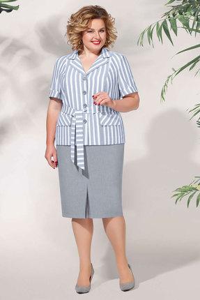 Комплект юбочный БагираАнТа 632 серые тона