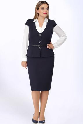 Комплект юбочный LeNata 31921 сине-белый