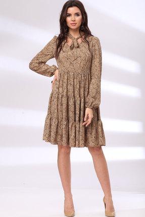 Платье Bonna Image 1011 тёмный беж