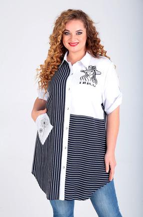 женская блузка таир-гранд, белая