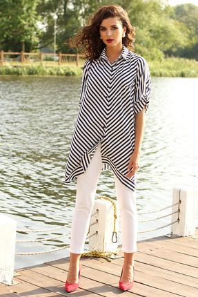 женская туника мода-юрс, белая