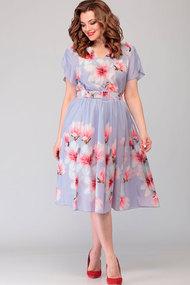 Платье Асолия 2482 серые тона