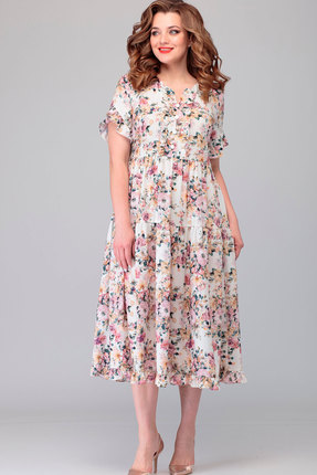 Платье Асолия 2478.3 мультиколор