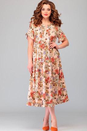 Платье Асолия 2478.6 мультиколор