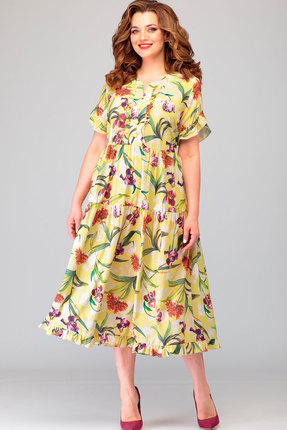 Платье Асолия 2478.7 мультиколор