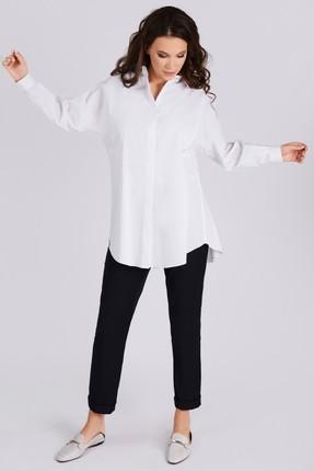 Рубашка Teffi style 1481 молочный
