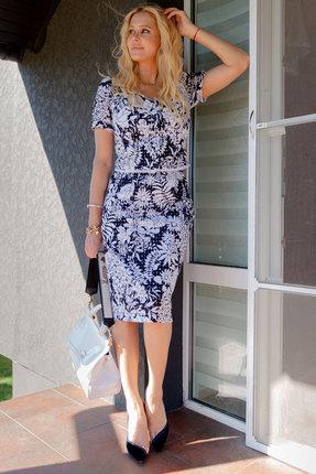 Комплект юбочный Vesnaletto 2358 синий с белым