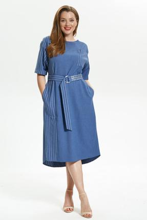 Платье Магия Моды 1719 голубой