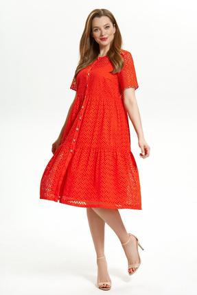 Платье Магия Моды 1757 красный
