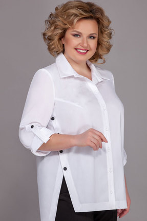 Блузка Теллура-Л 1495-2 белый