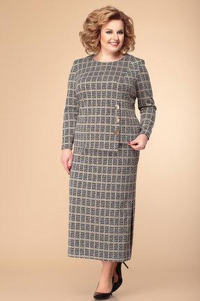 Комплект юбочный Romanovich style 2-1893 серый
