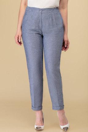 женские брюки дали, голубые