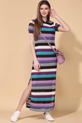 женское повседневные платье doggi, разноцветное