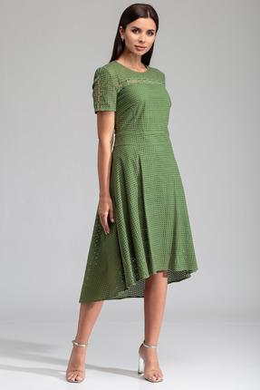 женское повседневные платье sandyna, зеленое