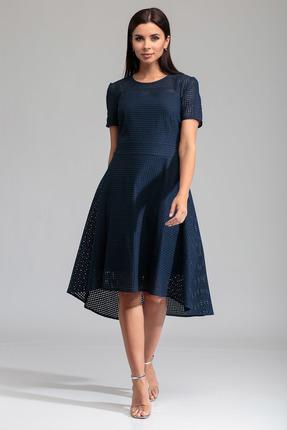 женское повседневные платье sandyna, синее