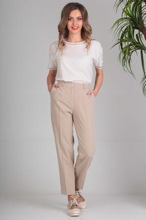 женские брюки sandyna, бежевые
