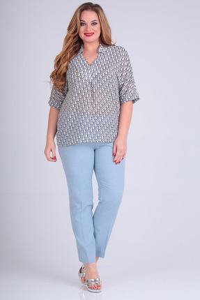 женские брюки sandyna, голубые