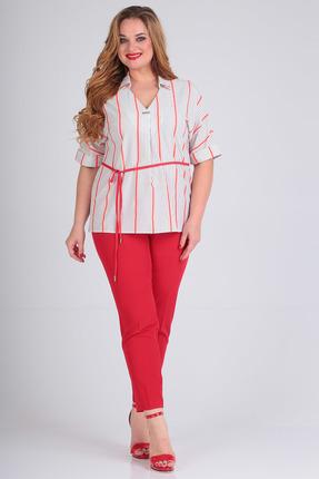 женские брюки sandyna, красные