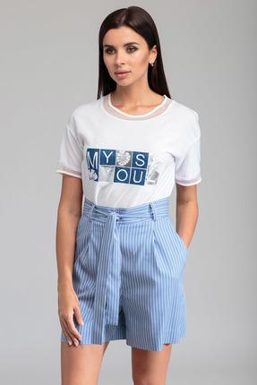 женские шорты sandyna, голубые