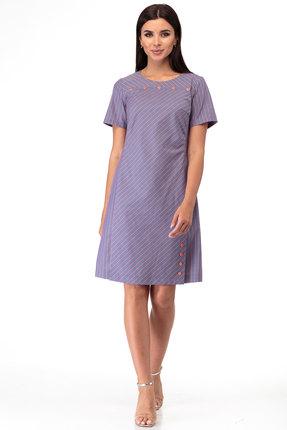 женское повседневные платье anelli, фиолетовое