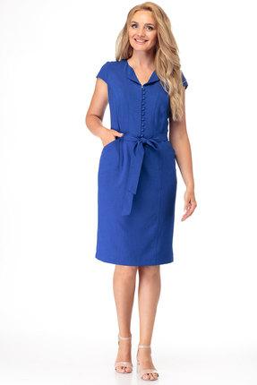 женское повседневные платье anelli, синее