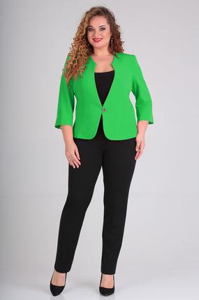 женский жакет таир-гранд, зеленый
