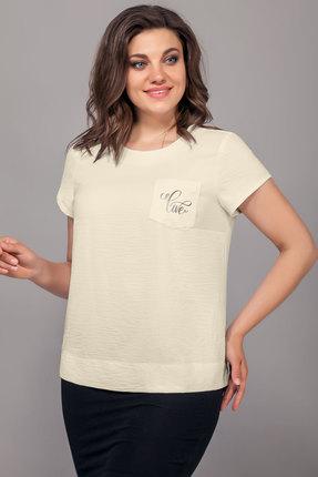 женская блузка emilia, молочная