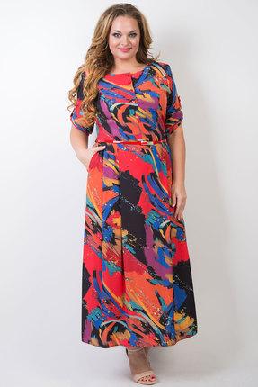 женское повседневные платье tricotex style