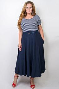 Платье TricoTex Style 84-17 синий