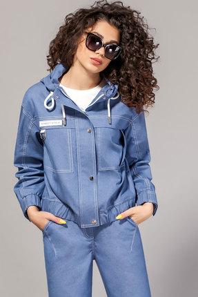 женская куртка сч@стье, синяя
