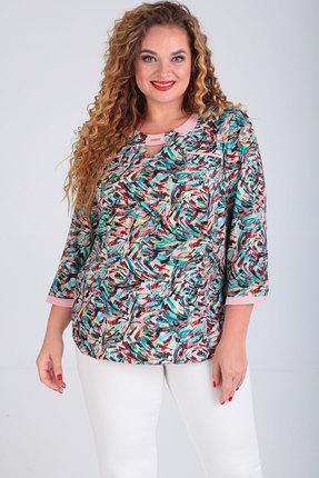 женская блузка sovita, разноцветная