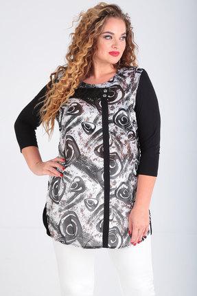 женская блузка sovita, черная