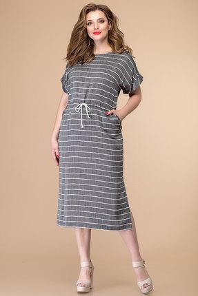 женское повседневные платье romanovich style, серое