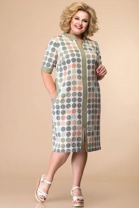 женское повседневные платье romanovich style, хаки