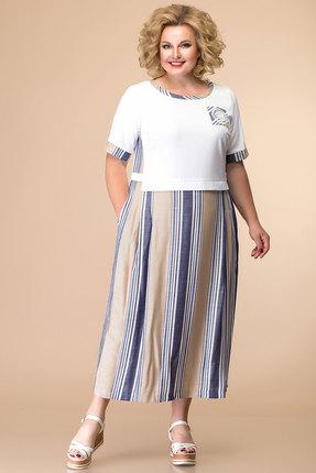 женское повседневные платье romanovich style, белое