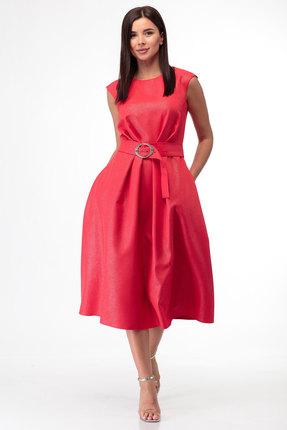женское повседневные платье anelli, красное