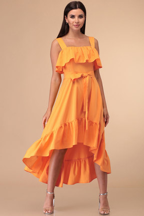 женский сарафан danaida, оранжевый