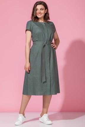 женское повседневные платье anna majewska, хаки