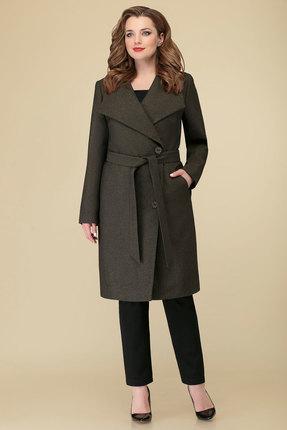 женское пальто дали, хаки