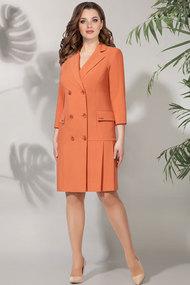 Платье БагираАнТа 605 оранжевый