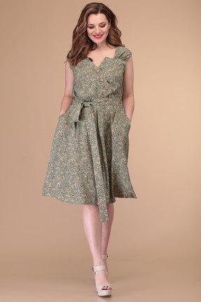 женское повседневные платье danaida, оливковое
