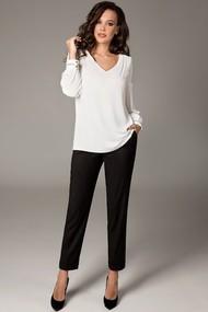 Блузка Teffi style 1475 молочный
