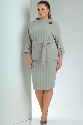 Комплект юбочный Milana 228 серые тона