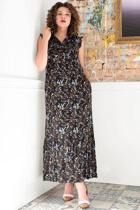 Платье Erika Style 1000-1 черный