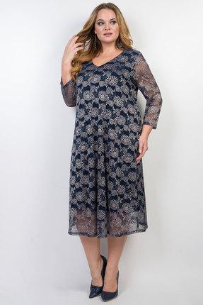 Платье TricoTex Style 11-19 синий