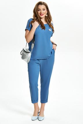 Комплект брючный TEZA 1475 синий