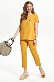 Комплект брючный TEZA 1475 желтый
